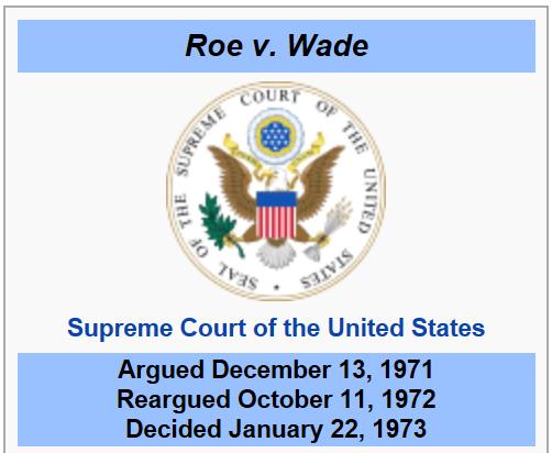roe  wade supreme