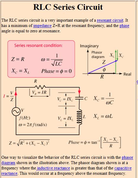 circuit impedance