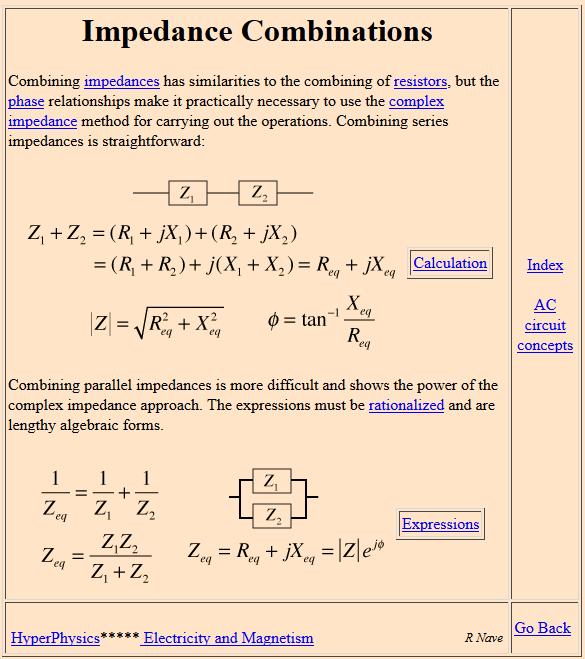 impedance 5-2